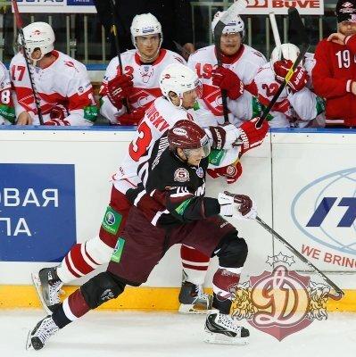 «Динамо» (Рига) vs «Спартак» 5:4 чемпионат КХЛ 2012-2013 (Фото)