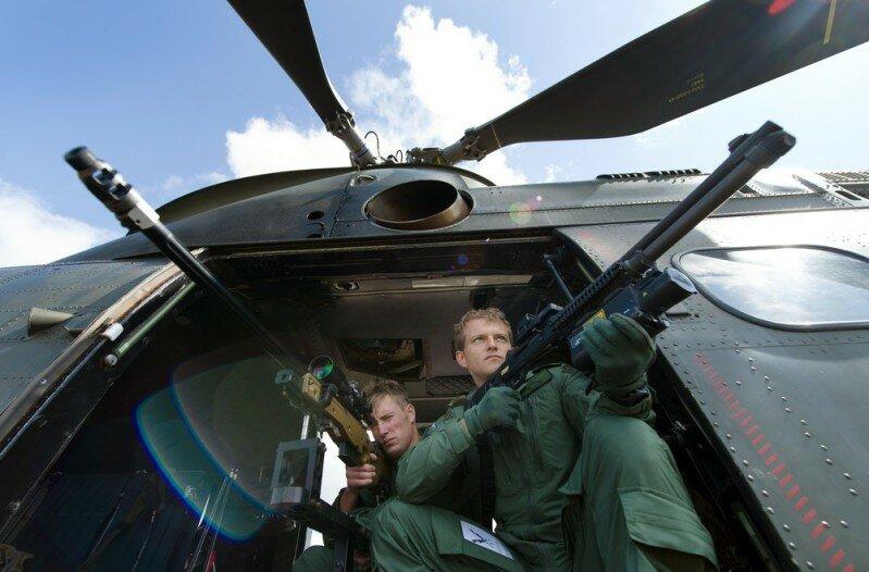 Lance Corporal Alex Walton (L) and Corpo