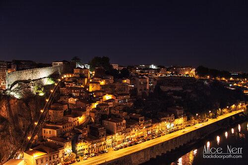 night in Oporto