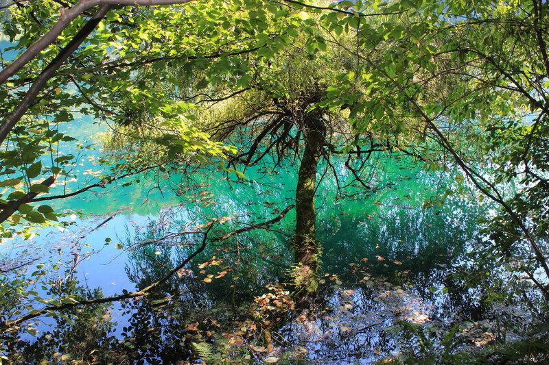 Нижнее голубое озеро!