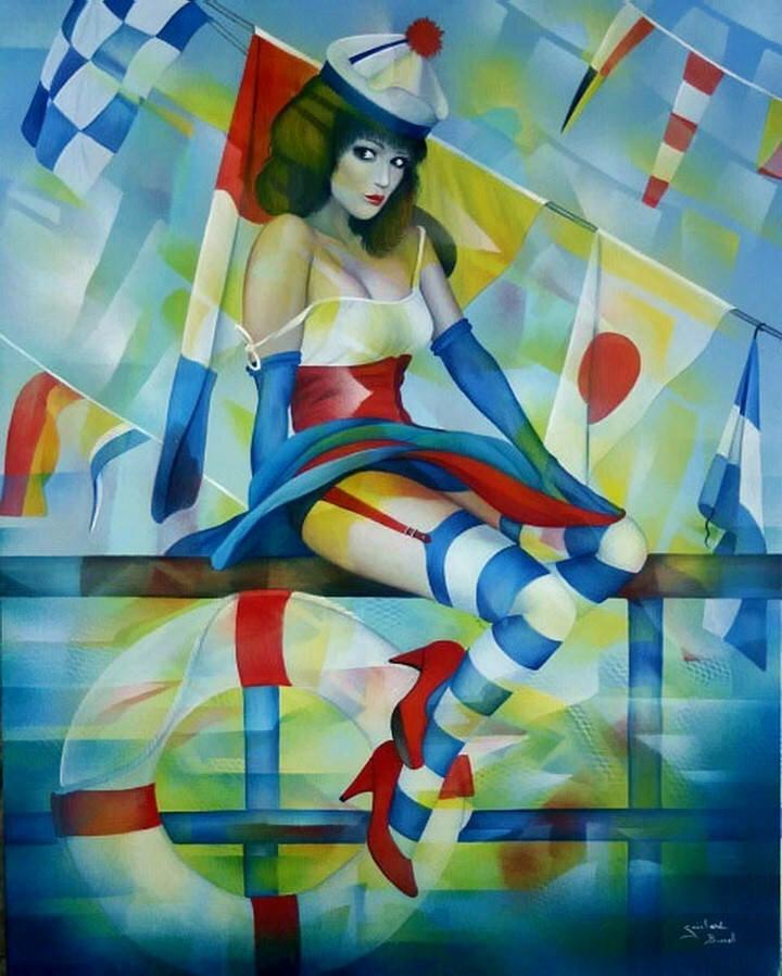 Jeannette Guichard-Bunel. Pin Up с сюрреализмом и юмором 7