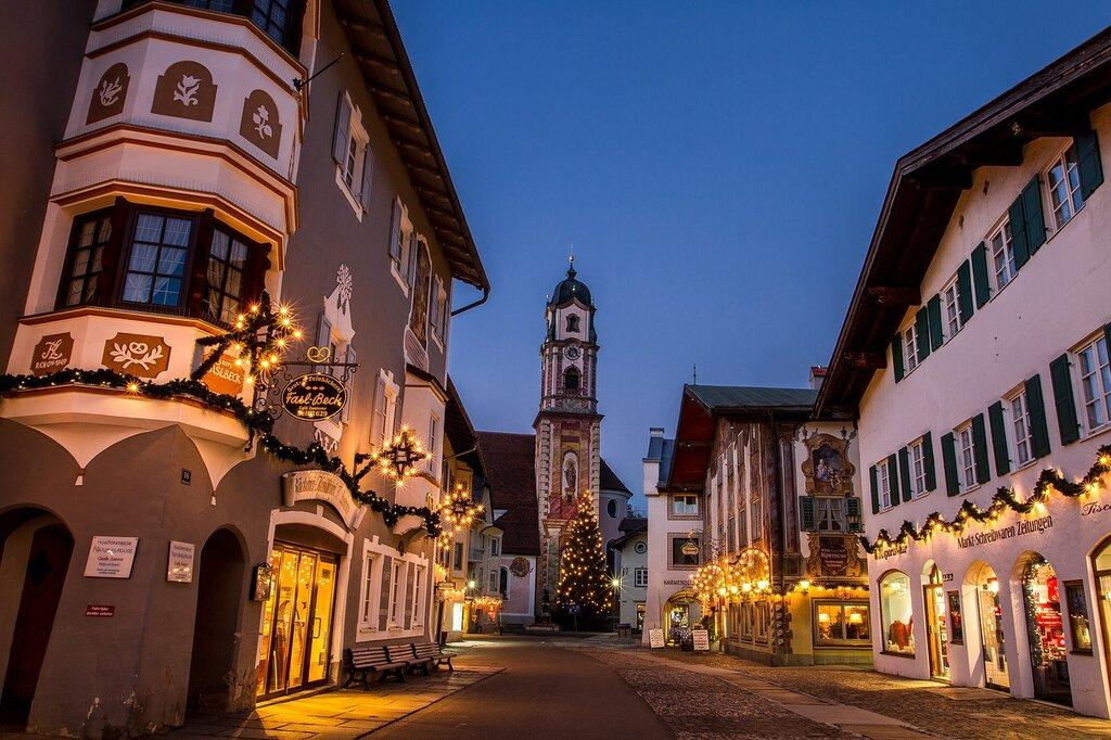 Рождество в Баварии/ Weihnachten