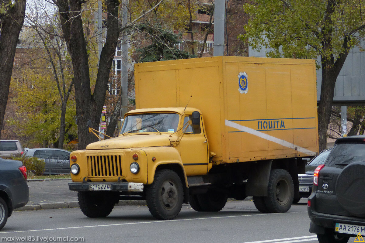 ГАЗ-53 Укрпочта