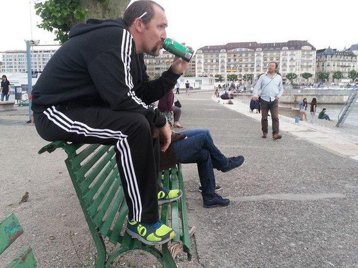 Прикольный фотосет отпуск в Европе