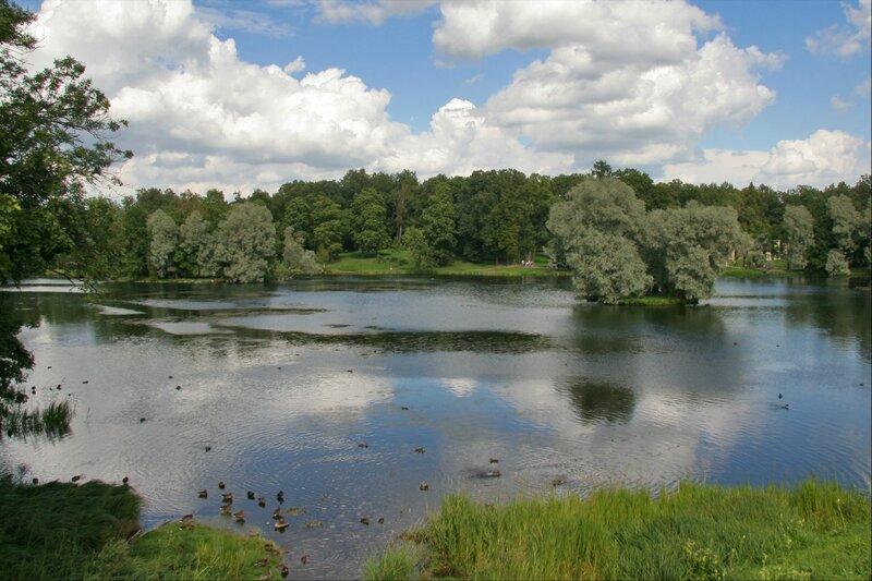 Гатчинский парк, Озеро Белое