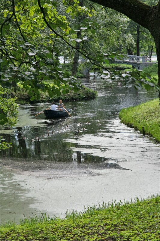 Гатчинский парк, Водный лабиринт