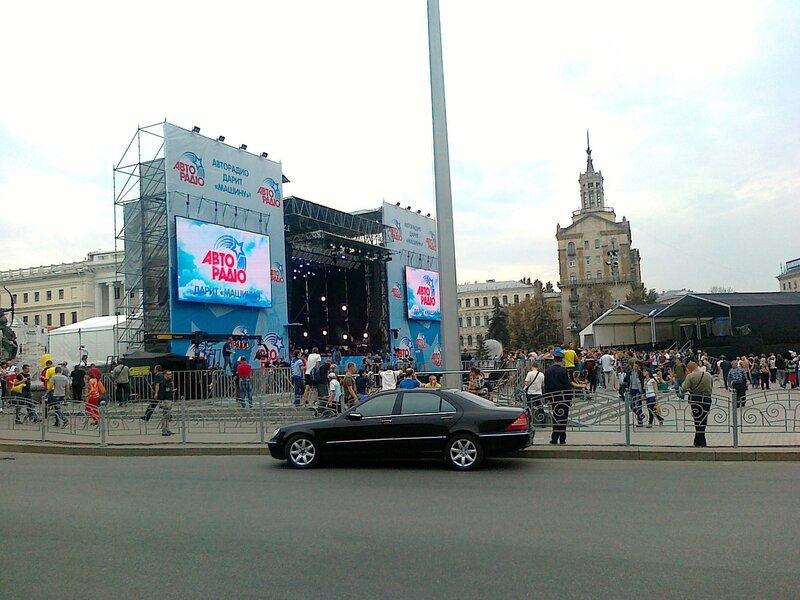 Концерт Машины времени в Киеве