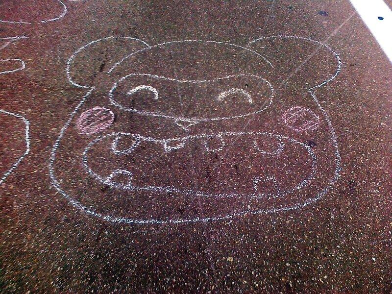 Рисунок злого медведя