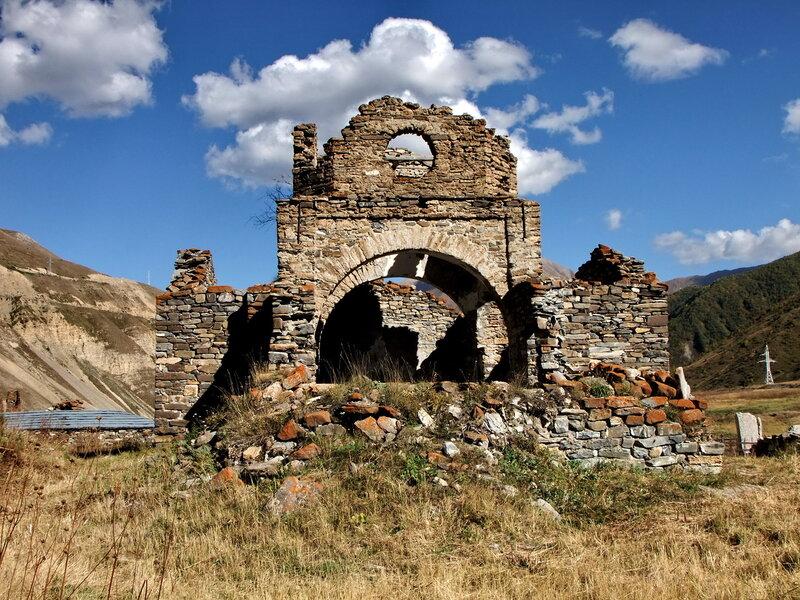 Древний храм Успения Пресвятой Богородицы
