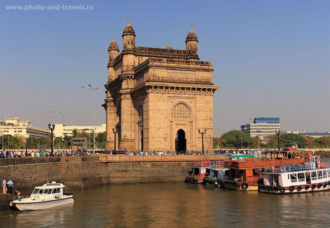 """Фото 8. Ворота в Индию в Мумбаи. Отчеты об экскурсии по мотивам романа """"Шантарам""""."""
