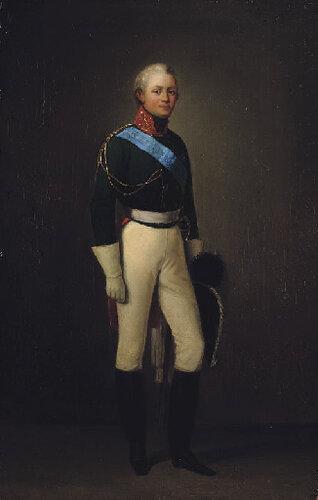 Адольф Игнатьевич Ладюрнер (1799-1855). Александр Первый.