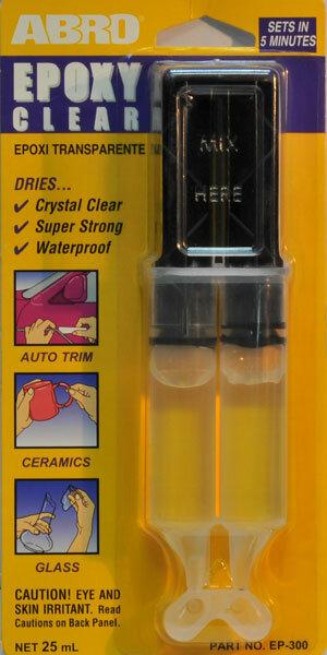 Клей эпоксидный Abro прозрачный (в шприце) ЕР-300