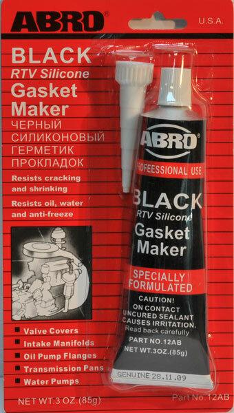 Инструкция Герметик Абро Черный - фото 2
