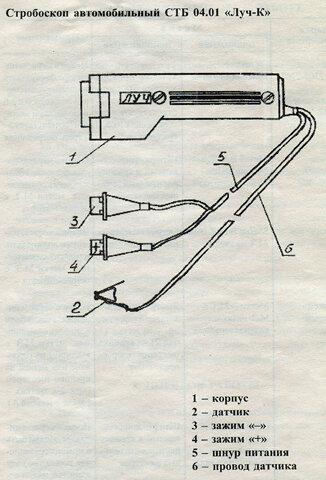 Инструкция стробоскоп стб-2