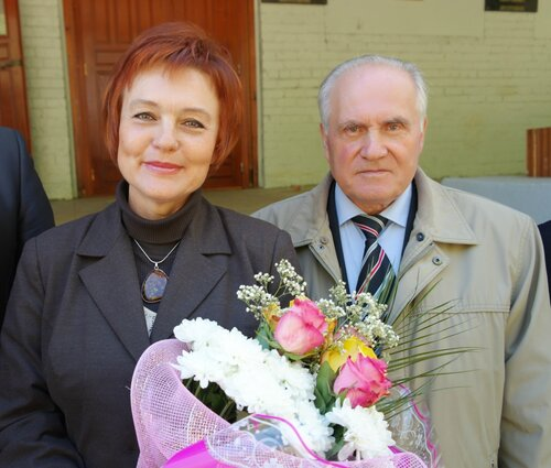 С. В. Вержбицкая и Н. Д. Вахин
