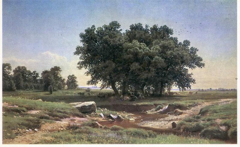 Шишкин Дубки. 1886