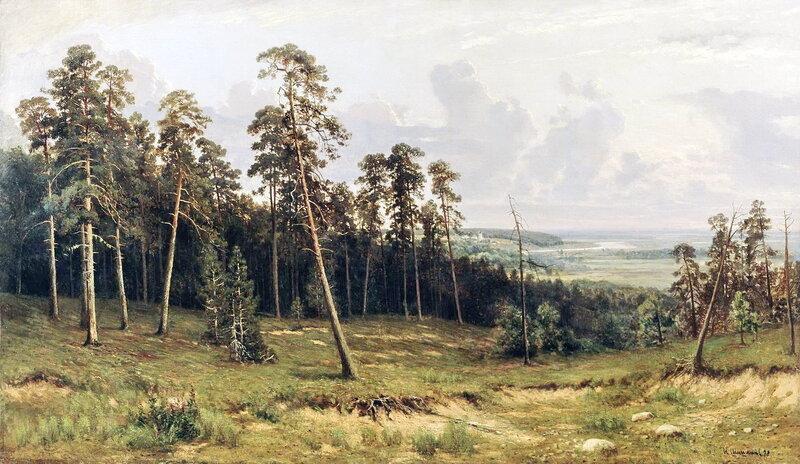 Опушка леса. 1882 г. И.И. Шишкин.jpg