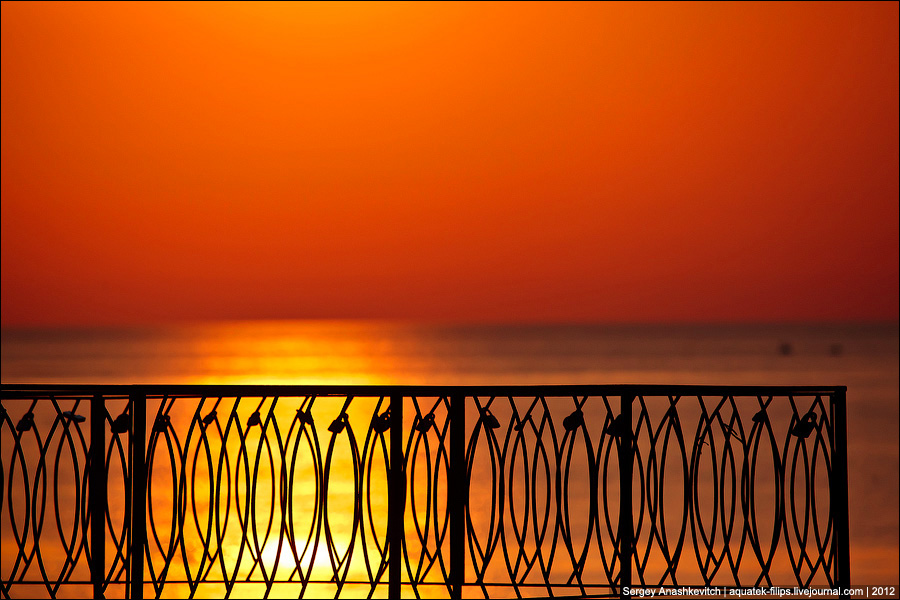 Закат в Херсонесе