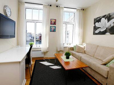 Стильный интерьер в небольшой квартире.