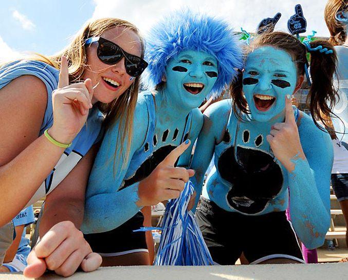 Студенческий чемпионат по американскому футболу 2012 - 1-ая неделя / Tar Heels из Университета Северной Каролины