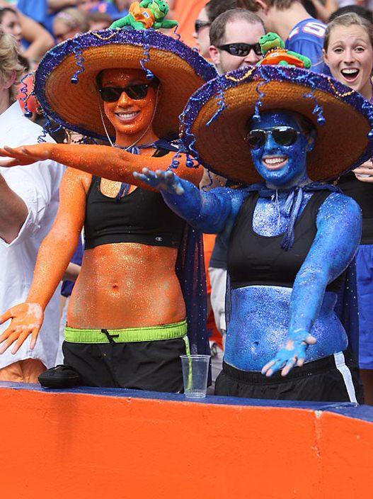 Студенческий чемпионат по американскому футболу 2012 - 1-ая неделя / Аллигаторы из Университета Флориды