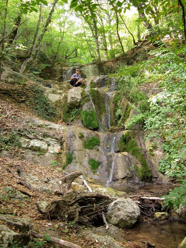 Водопад на Сотере