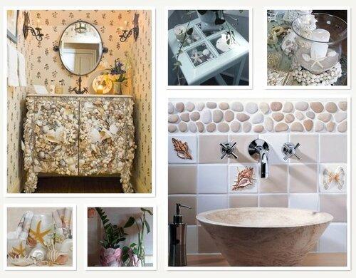 Декор своими руками для ванной 57