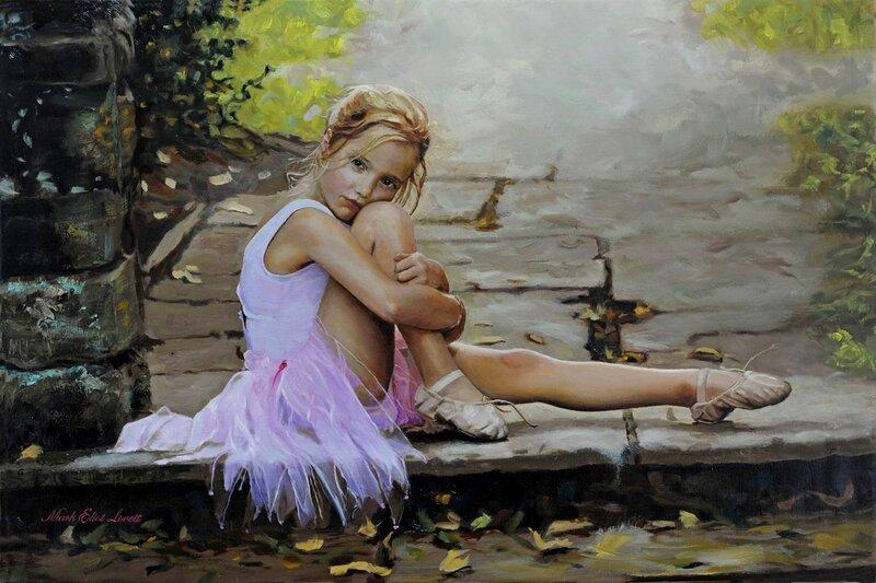 Hd обои девочка, девушка, балерина, юная, пуанты, Настроение 1600 x