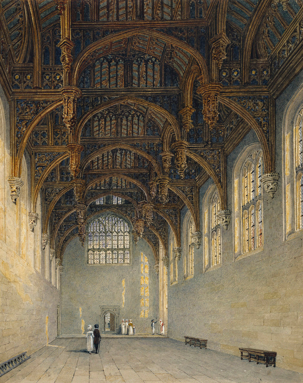 Готический суд, Дворец Хэмптон-Корт.
