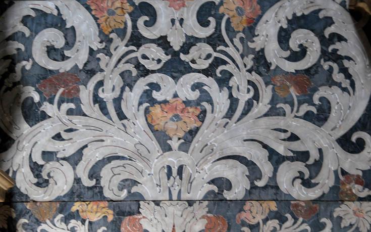 Орнамент барокко декор церкви santa