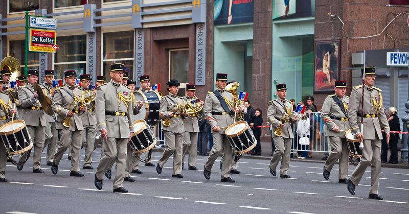 Французский военный оркестр
