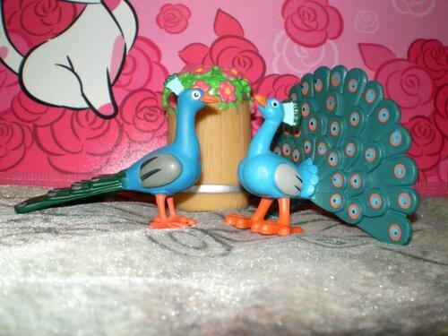 Животные на Ферме №35: павлин, клумба