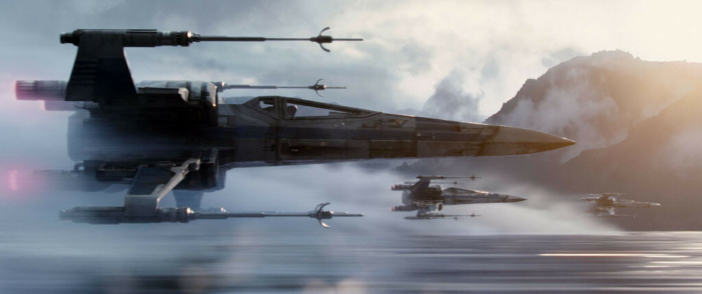 Star Wars: The Force AwakensX-Wing StarfightersPh: Film Frame©Lucasfilm 2015