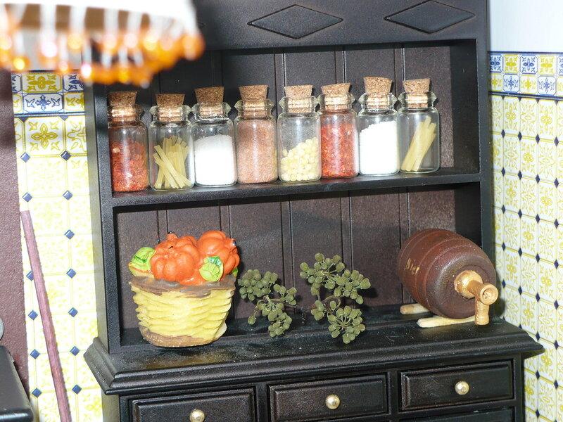 Дом Мечты №49 Кухонная утварь, баночки со специями