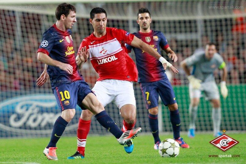 «Барселона» vs «Спартак» 3:2 Лига чемпионов 2012-2013 (Фото)