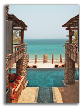 Оман. Six Senses Zighy Bay