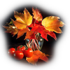 Клипарт Осенний натюрморт