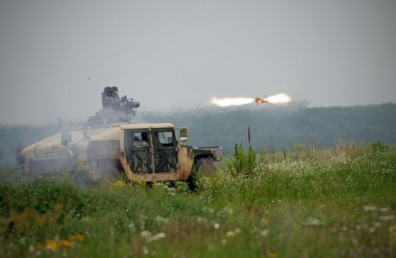 Soldiers receive tow missile training