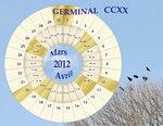 жерминаль CCXX года (март-апр. 2012)