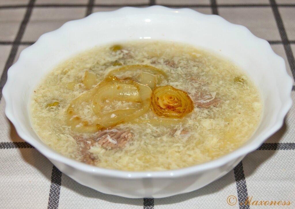 Мясной суп с анисом. Китайская кухня.