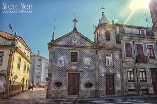 church in Porto city, azulezu