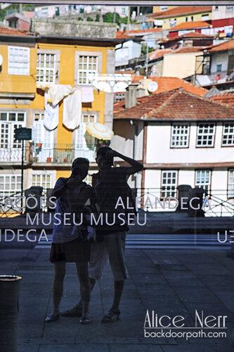 автопортрет в Порту
