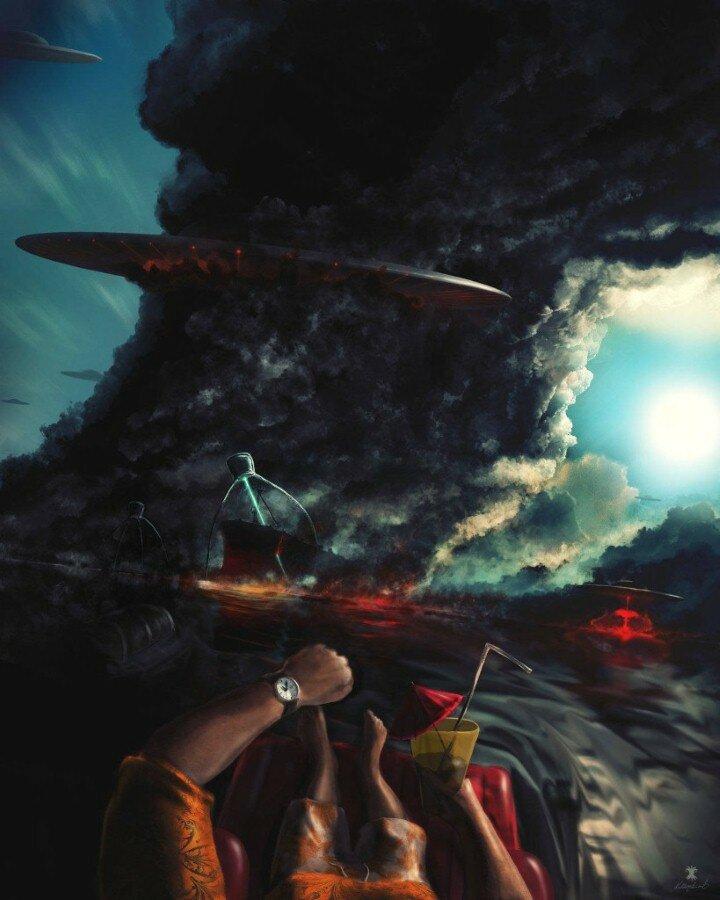 Kuldar Leement. Сюрреалистическая живопись 12