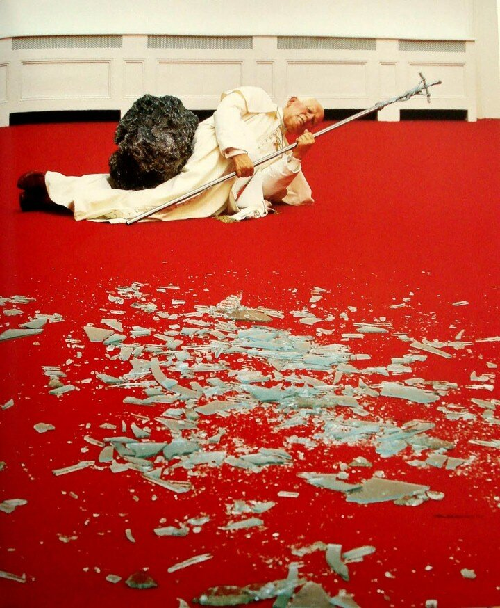 the life and works of maurizio cattelan