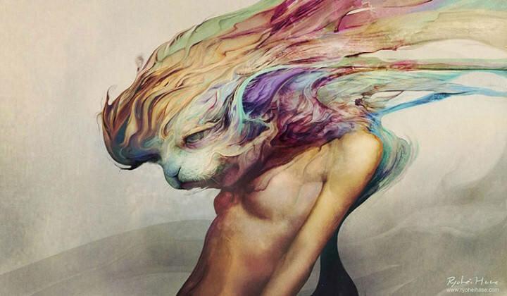 Ryohei Hase. Современный художник из Японии 9