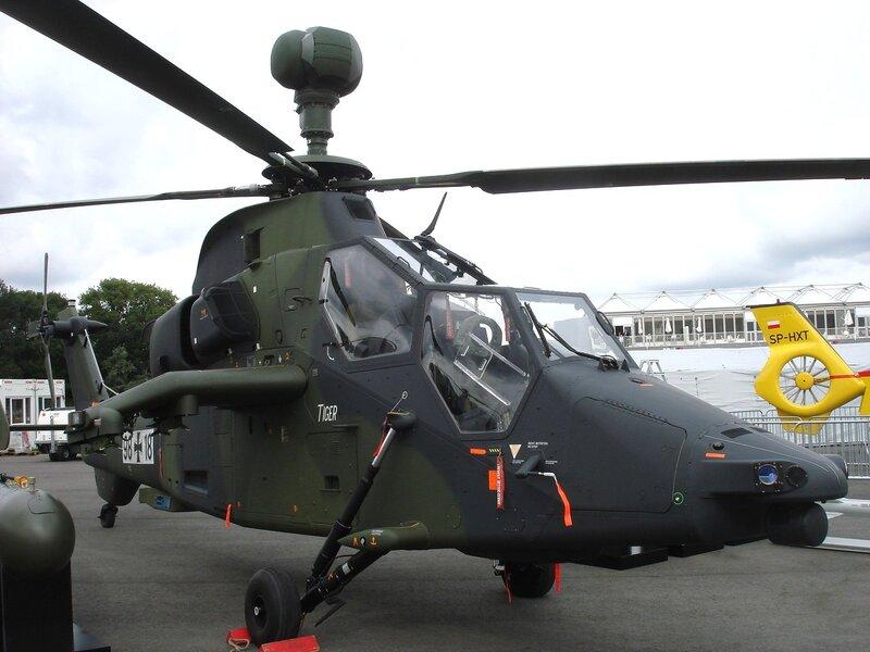 Разведывательно-ударный вертолёт Tiger