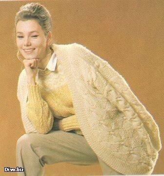 Осенью и весной, а также прохладной зимой всегда актуальны женские вязаные кофты, женские кардиганы, женские свитера.