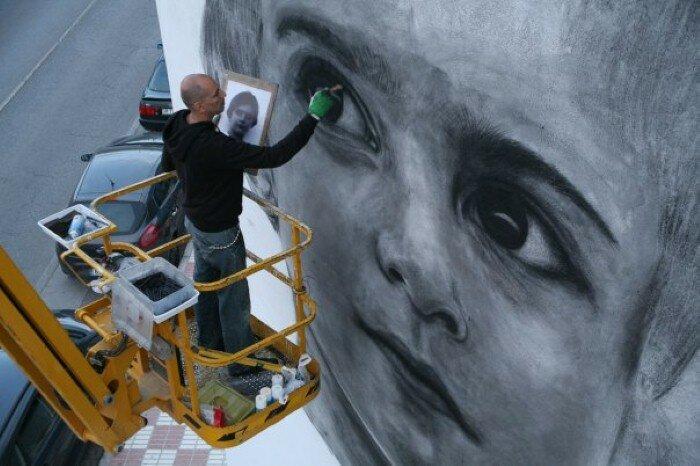 Уличное искусство. Jorge Rodriguez-Gerada 27