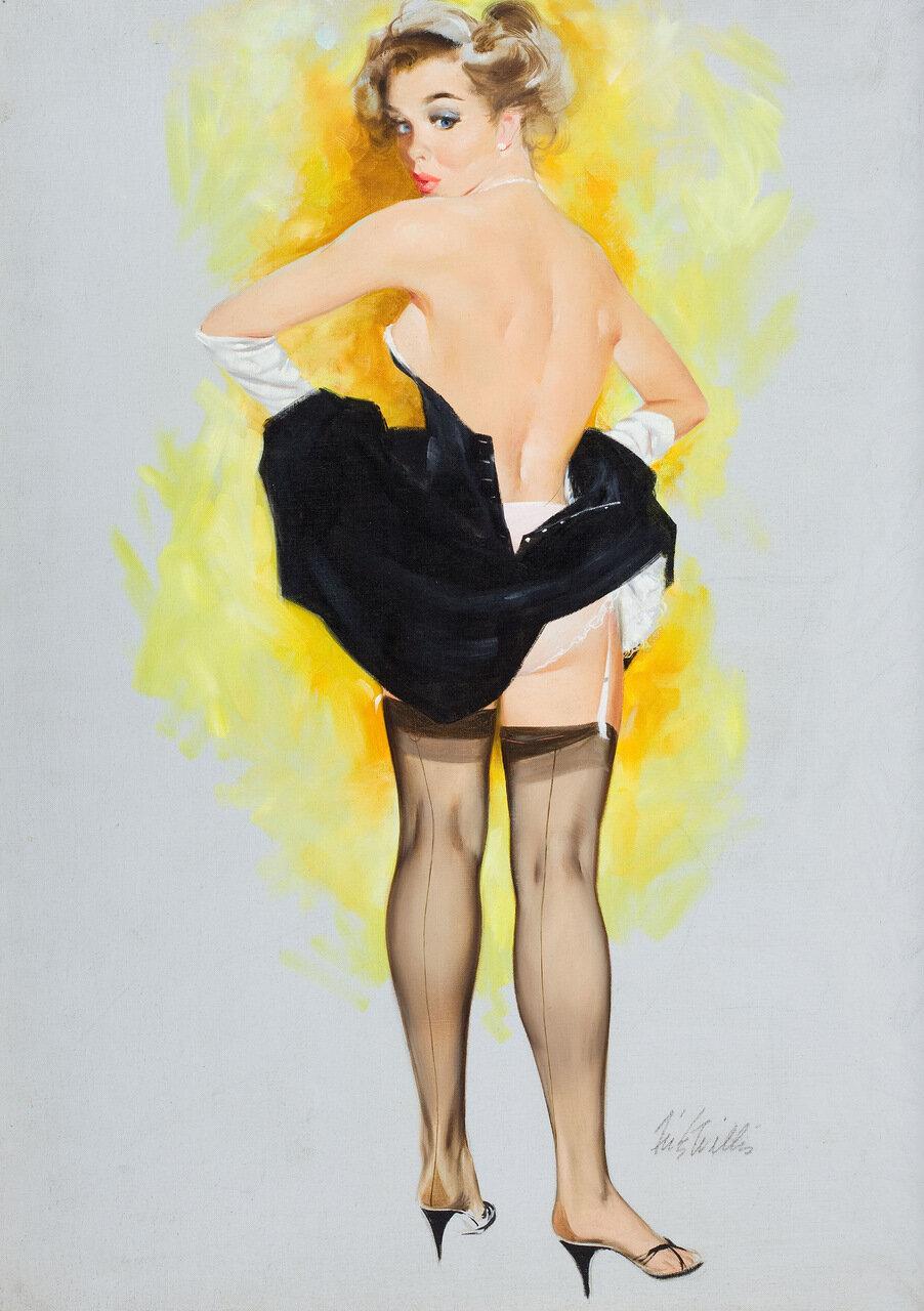 Рисунки эро художников #13