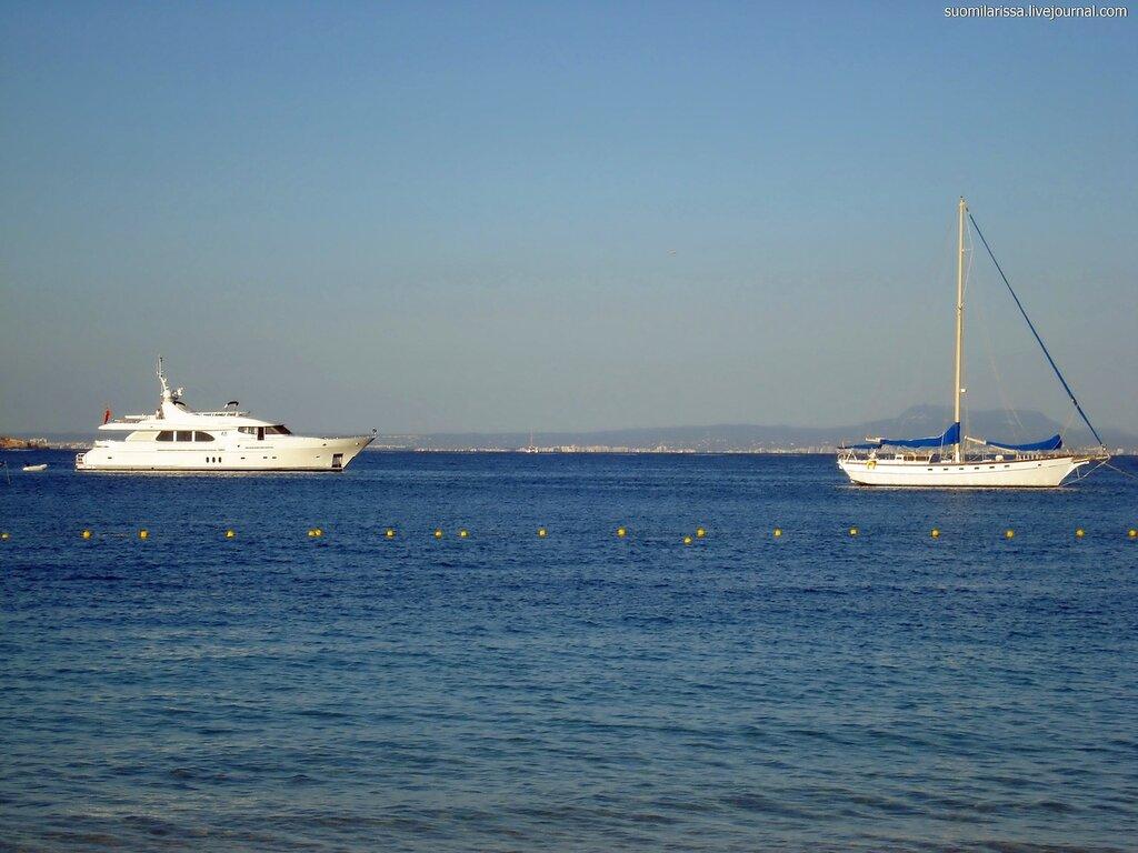 Море. Яхты.